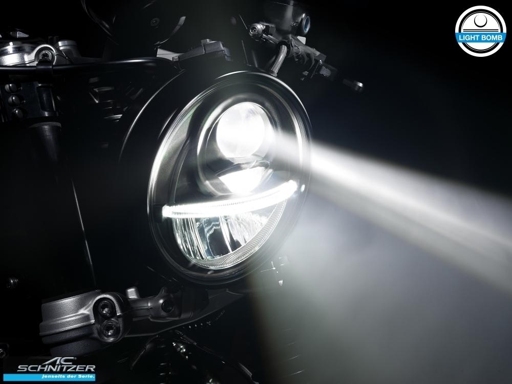 Ac Schnitzer Light Bomb Led Headlight R Ninet Scrambler