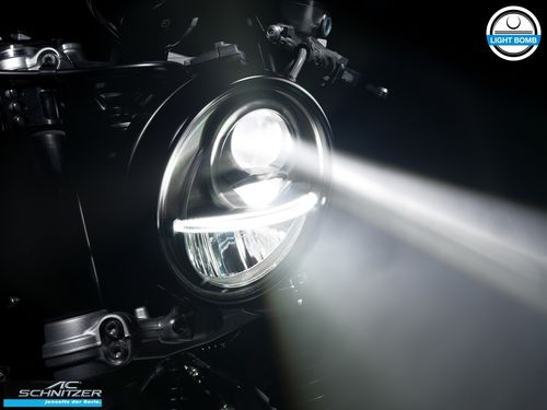 AC Schnitzer LIGHT BOMB LED Headlight R nineT from 2017