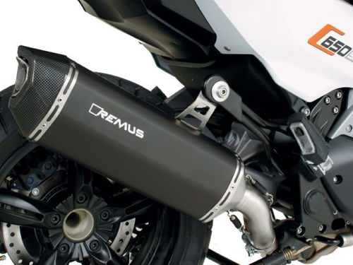 REMUS BLACK HAWK Silencer C 650 Sport-GT from 2016 EC