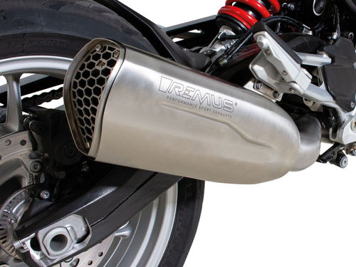 REMUS NXT silencer stainless steel matt F 900 R