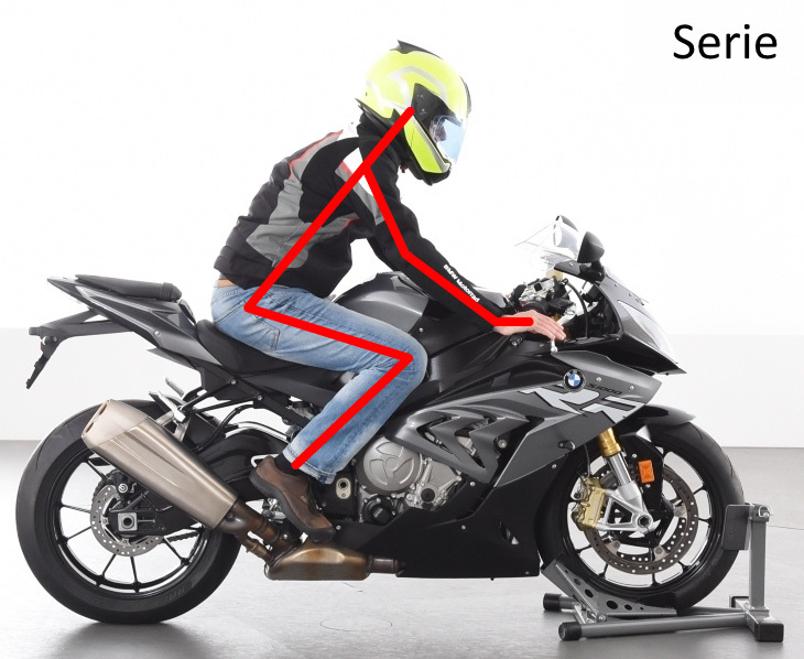 AC Schnitzer Superbike handlebar S 1000 RR from 2012 with ABS